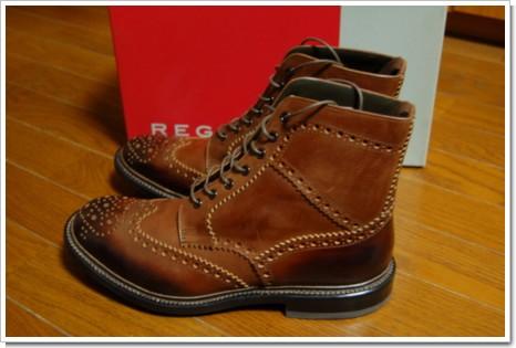 REGAL 051BL ブーツの写真
