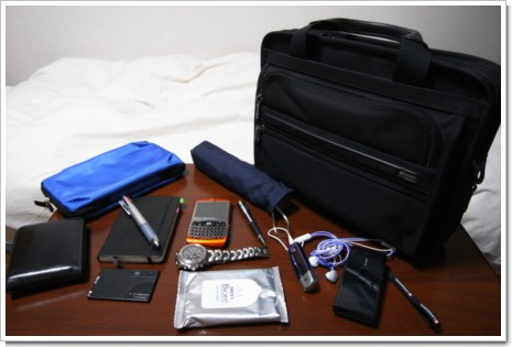 私の鞄の中身 2007/10/08の写真